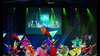 "Korean perform Philippines Cultural Dance ""Tara na Tara na"" in 2018 IYF Good News Corps Festival"