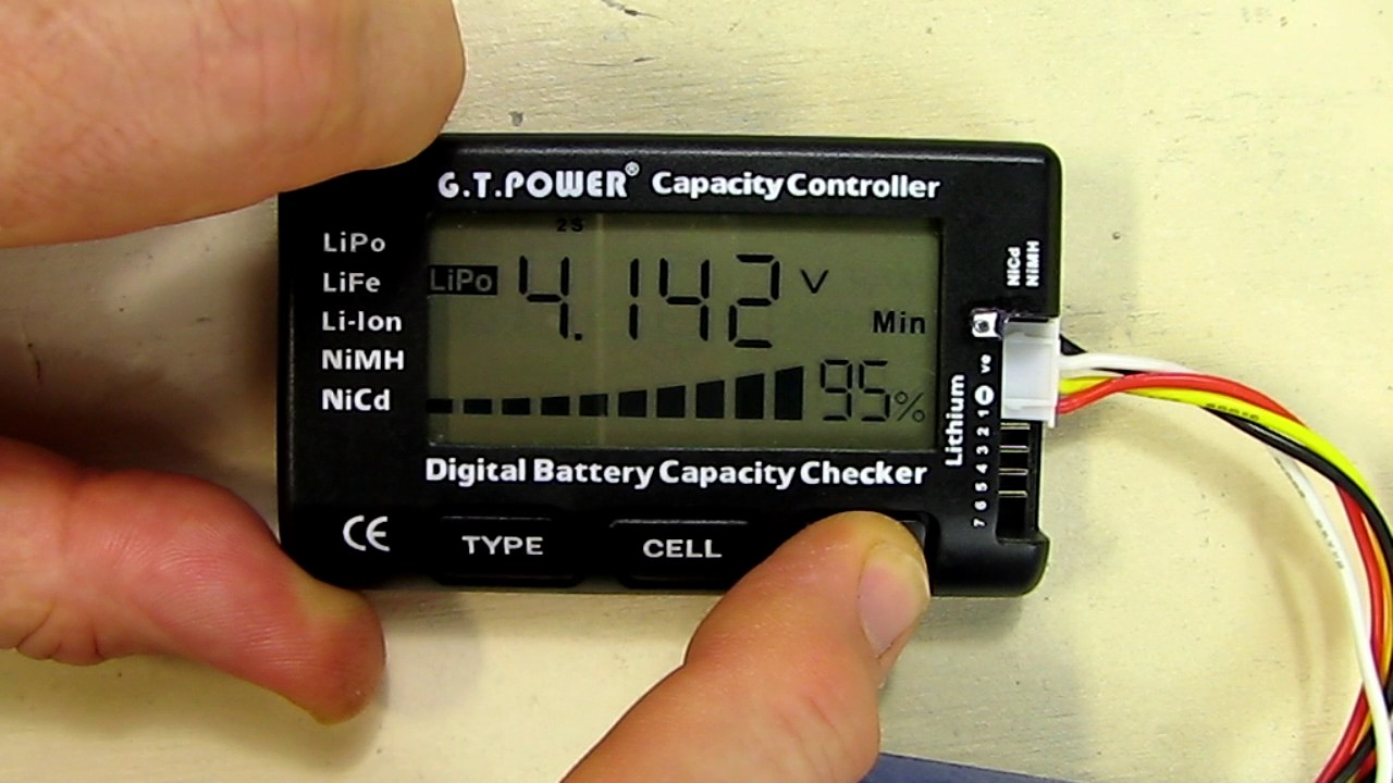 Rc Cellmeter 7 Digital Battery Capacity Checker Controller Tester Gt Automotive Electrical Testers Continuity 6v 12v