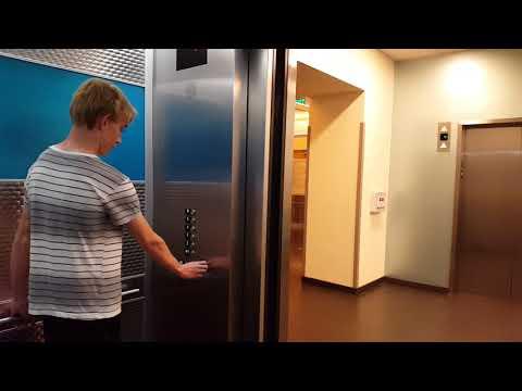 Otis Traction 'C' Elevators At UCSF Benioff Children's Hospital, San Francisco, CA