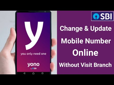 How To Change Mobile Number By Yono App | How To Change Mobile Number In Sbi Bank Account Online