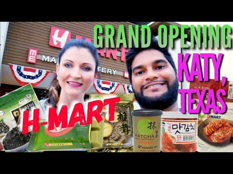 H-MART Grand Opening In Katy Texas (Korean Grocery Store In Houston)