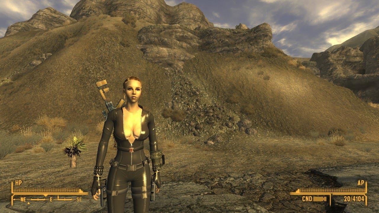 Black Widow Justice Leagueshield Armor Mod In Fallout New