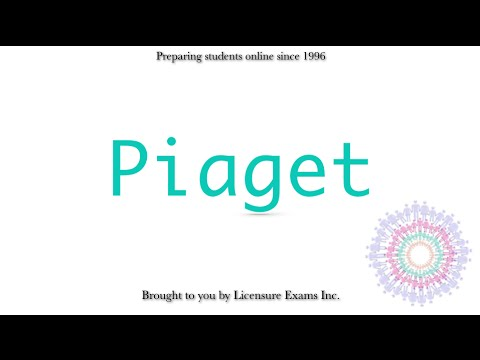 Piaget - ASWB, NCE, NCMHCE, MFT Exam Prep and Review