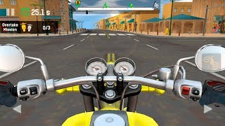 Highway Rider - Furious moto speed racing game - Gameplay Android game