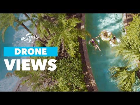 Epic Drone Views | Universal Orlando Resort Hotels