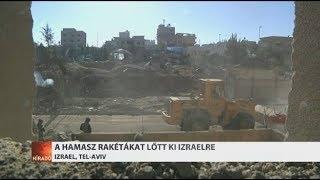 Izrael bombázni kezdte a Gázai övezetet
