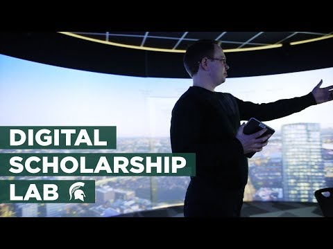 State-of-the-Art Digital Scholarship Lab at MSU