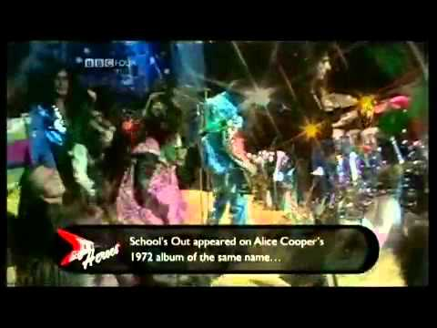 ALICE COOPER - School's Out live 1972
