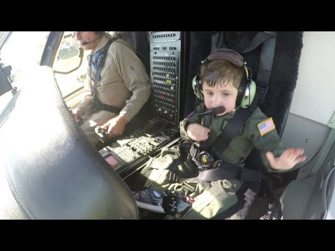 "Sikorsky Grants ""Pilot for a Day"" Wish for 6-Year-Old Boy"