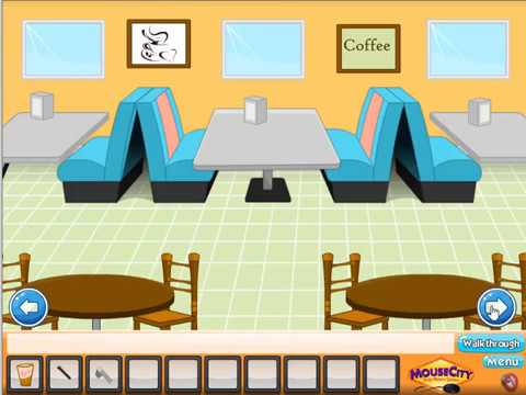 Toon Escape Coffee House Walkthrough