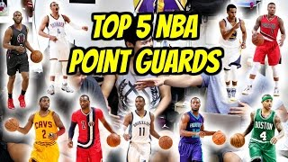 Check up: top 5 nba point guards!