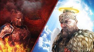 FOR HONOR : THE GOD HIGHLANDER AND DEVIL CENTURION !!