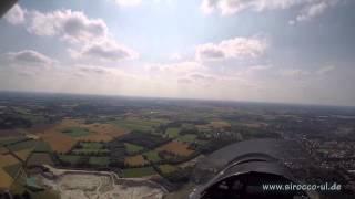 Sirocco nG von ParaZoom, Flugerprobung, 120 kg Luftsportgerät