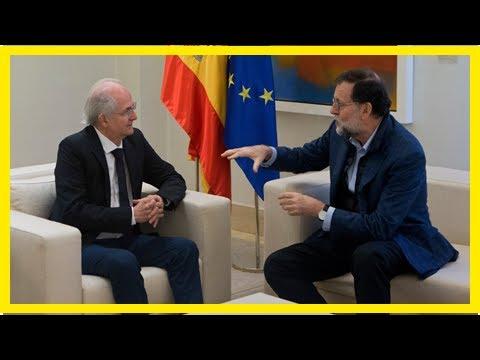 Daily News - Spain: ex-caracas mayor met the leaders after fleeing venezuela