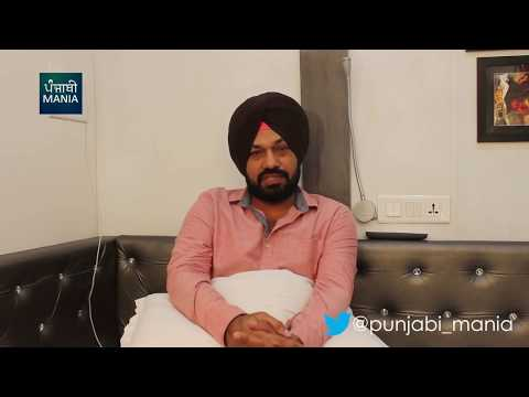 Gurpreet Ghuggi on the sets of Motor...