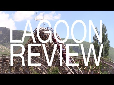 Lagoon Amusement Park Review Farmington, Utah