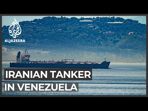 First Iranian oil tanker reaches Venezuelan waters