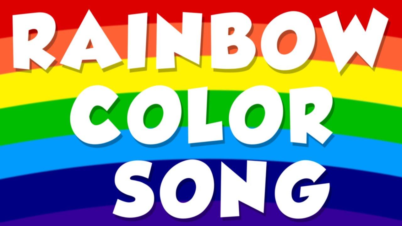 Colors preschool songs - Rainbow Color Song Color Song For Preschool Baby