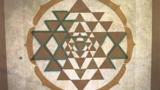 How to Make a Sri Yantra Mural
