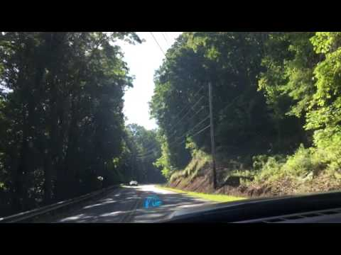 Video driving tour of Hwy 53 E., Jasper to marble Hill, Georgia