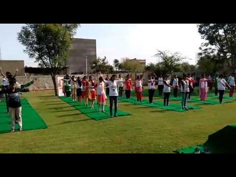 International Yoga Day at Soft Skills Institute, Jhunjhnu (Rajasthan)