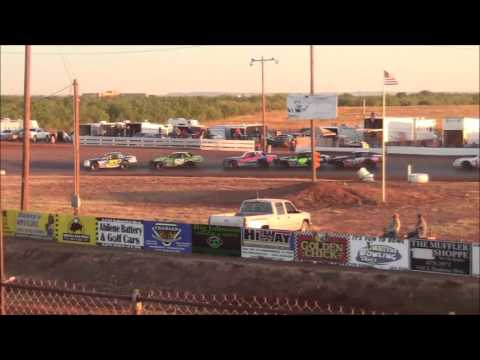I Stocks at Abilene Speedway 10-18-15
