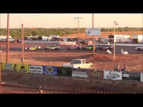 I Stocks at Abilene Speedway 10-18-15