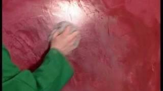 Raffaello decor stucco effetto Spatolato