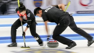 CURLING:  KOR-AUT WCF World Mixed Doubles Chp 2016 - GROUP B thumbnail