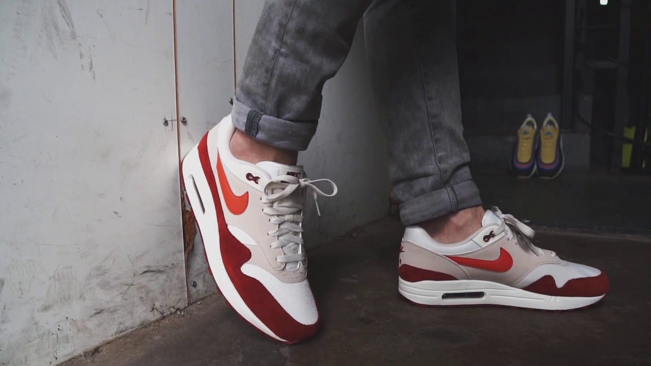 best authentic 7f1cb ad9f9 Nike Air Max 1 Mars Stone - YouTube