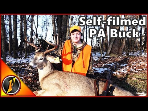 Self-filmed Pennsylvania Buck! | PA Rifle Season