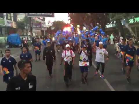 [LIVE] Pawai Obor Asian Games 2018 Di Kota Malang #2