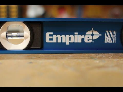 Empire e55 Series True-Blue I-Beam Levels Review