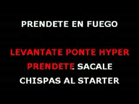 Atrevete te te karaoke Calle 13
