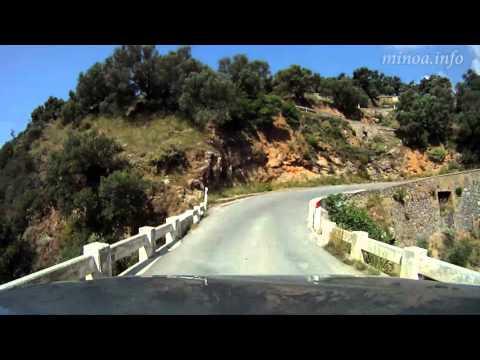 Driving Through Rodakino Villages