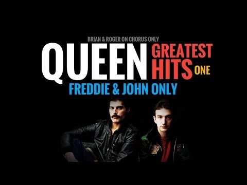 Queen - GREATEST HITS one ( Freddie & John only)