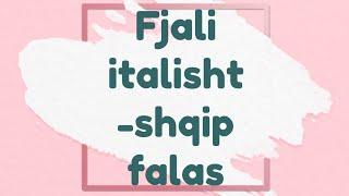 Shprehje te dobishme ne gjuhen italiane