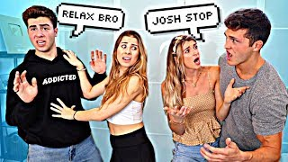 ARGUING IN FRONT OF OUR GIRLFRIENDS PRANK!! W/ ADI & EMILY