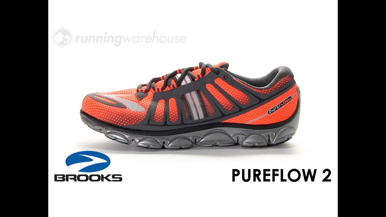 aa0f3290e7f Brooks PureFlow 2 for Men. Running Warehouse
