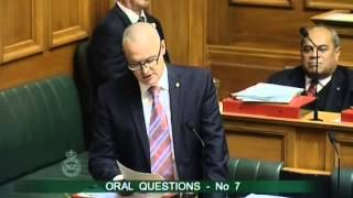 27.05.15 - Question 7: Dr David Clark to the Minister for Economic Development