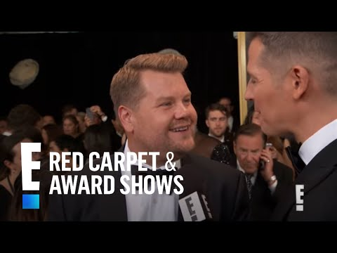James Corden Is Hiding Snacks For His Pregnant Wife at Emmys | E! Live from the Red Carpet