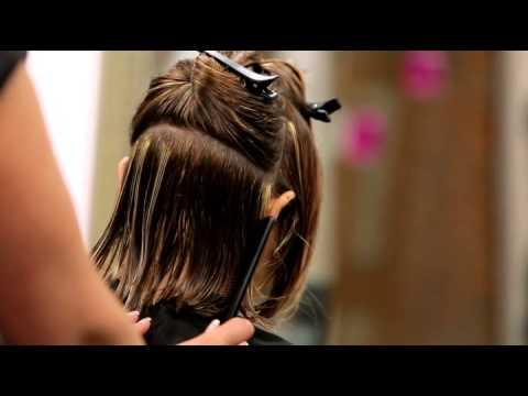Corte de pelo paje