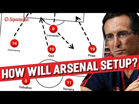 How will Unai Emery setup Arsenal? | Squawka Tactics