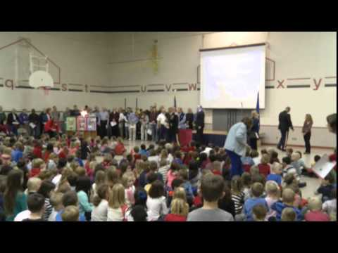 Fernbrook Elementary School's Veterans Day Program 2014