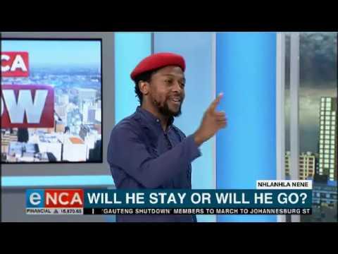 EFF's Ndlozi, Prof Ndletyana in heated Nene debate