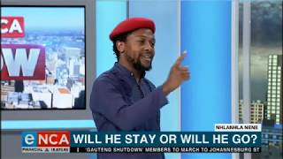 EFF's Ndlozi, Prof Ndletyana in heated Nene debate