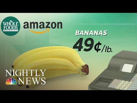 Amazon Slashes Whole Foods Prices | NBC Nightly News