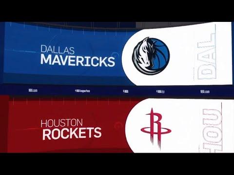 Houston Rockets vs Dallas Mavericks Game Recap | 2/11/19 | NBA