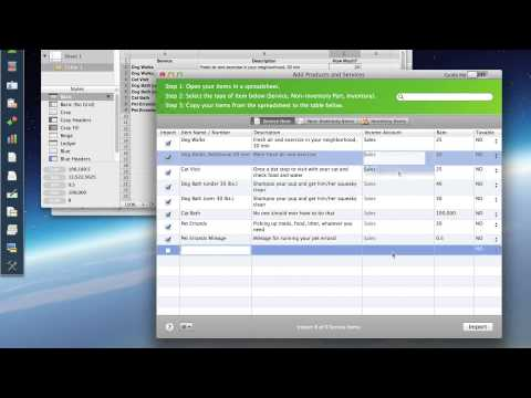 How to import excel file into quickbooks for mac?