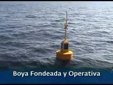 Instalación de dos boyas en la costa de Asturias para medición recurso energético de las olas